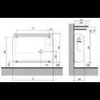 Fondital Gazelle EVO 3000 konvektor 2,72kW