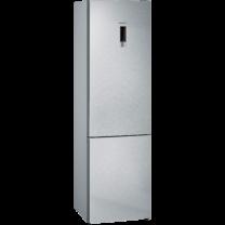 Siemens IQ300 noFrost, Kombinált hűtő / fagyasztó Nemesacél ajtók