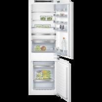 Siemens IQ500 coolEfficiency noFrost, Beépíthető hűtő-/fagyasztó kombináció, Lapos ajtópánt rögzítés