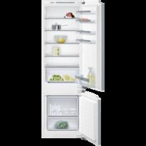 Siemens IQ300 coolEfficiency Beépíthető hűtő-/fagyasztó kombináció, Lapos ajtópánt rögzítés