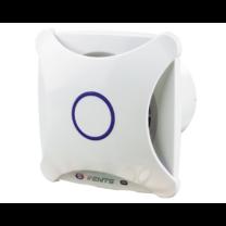 Vents 100 XTH Modern Külsejű Dekoratív Ventilátor (fehér) Páraérzékelővel és Időkapcsolóval