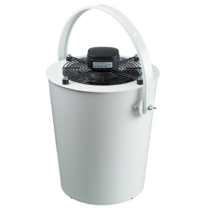 Vents DRF-OV 250 Axiális Ventilátor Műanyag Borítású Acélházban
