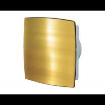 Vents 100 LDTHL AUTO Automata zsaluval és zárt előlappal (arany) Golyóscsapággyal, Időkapcsolóval és Páraérzékelővel