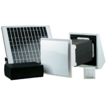 Vents Twin Fresh Solar SA-60 Pro Hővisszanyerős Szellőztető Ventilátor