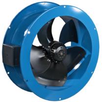 Vents VKF 2E 200 1 Fázisú Peremes Axiál Ventilátor Műanyag Borítású Acélházban