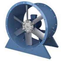 Vents VPVO-630-48,5/A-N-3,0/4-380-U2-01-B Füstelvezető Axiális Ventilátor