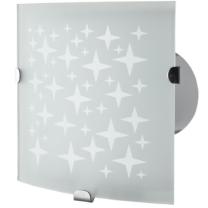 Vents 100 Vitro Dekoratív Ventilátor Edzett Üveg Előlappal
