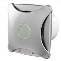 Vents 100 XTH Modern Külsejű Dekoratív Ventilátor (alu matt) Páraérzékelővel és Időkapcsolóval
