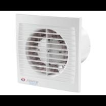 Vents 100 Silenta-S Alacsony Zajszintű és Energiafogyasztású Ventilátor Lapos Előlappal