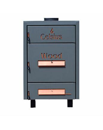 Celsius Wood 90-125 Szilárdtüzelésű Kazán 125 kW