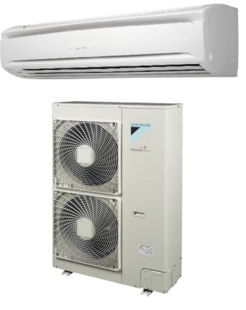 Daikin FAQ100C/RZQG100L9V1 Sky Air Oldalfali Klíma Csomag 9.5 kW, Távirányító Nélkül