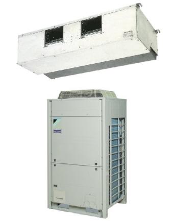 Daikin FDQ250B/RZQ250C Sky Air Légcsatornázható Klíma Csomag 24.1 kW, Távirányító Nélkül