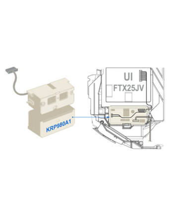 Daikin KRP980A1 S21 Csatlakozó Adapter, Kiegészítő Szabályozók Csatlakoztatásához