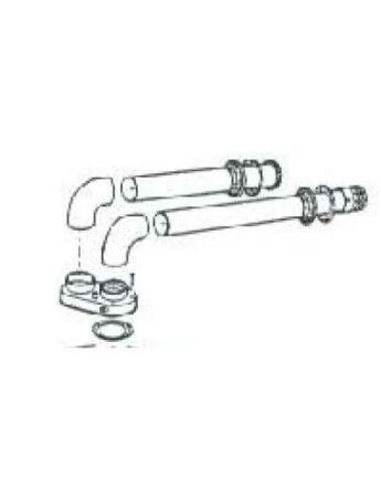 FÉG Szétválasztó teljes alap szett, kondenzvíz gyűjtővel [80/80]