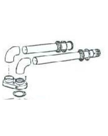 FÉG Szétválasztott füstcső KIT PPs-ből [80/80]