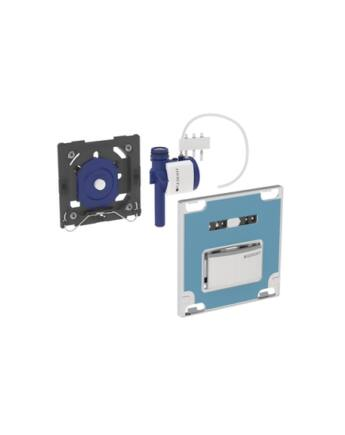 Geberit Sigma10 pneumatikus vizelde vezérlés (mélyfekete RAL 9005)