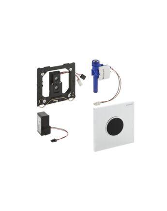 Geberit Sigma10 automata vizelde vezérlés, infravörös, hálózati (fehér / fényes króm / fehér)