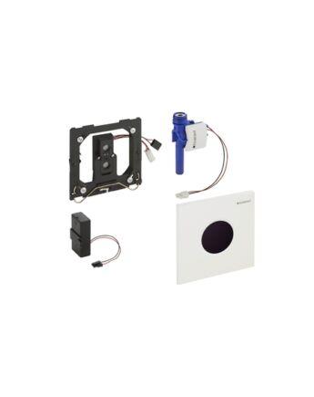 Geberit Sigma01 automata vizelde vezérlés, infravörös, elemes (Matt króm)