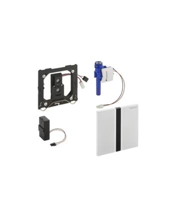Geberit Sigma50 automata vizelde vezérlés, infravörös, elemes (fényezett króm)