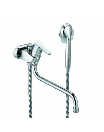 KLUDI LOGO NEO egykaros kádtöltő- és zuhanycsap NA 15