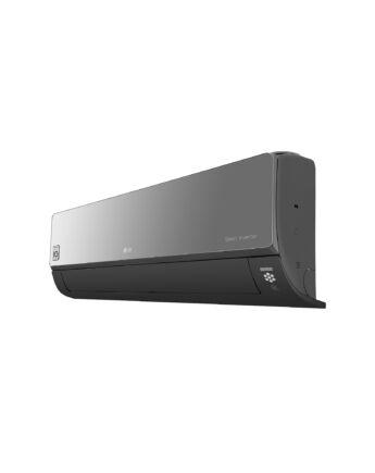 LG AC12BQ ART COOL Mirror 3,5 kW-os inverteres split klíma csomag, beépített Wi-Fi