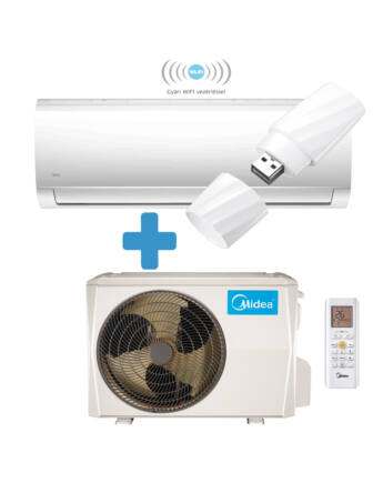 Midea Blanc MA-18N8D0-SP-WIFI  inverteres split klíma csomag 5,3 kW