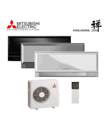 Mitsubishi MSZ/MUZ-EF50VES Kirigamine Zen Inverteres Prémium oldalfali split klíma csomag 5,0 kW (ezüst)