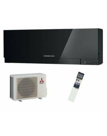 Mitsubishi MSZ/MUZ-EF25VGB Zen Inverteres Prémium oldalfali split klíma csomag 2,5 kW (fekete)
