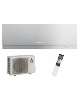 Mitsubishi MSZ/MUZ-EF50VGKS Zen Inverteres Prémium oldalfali split klíma csomag 5,0 kW (ezüst)