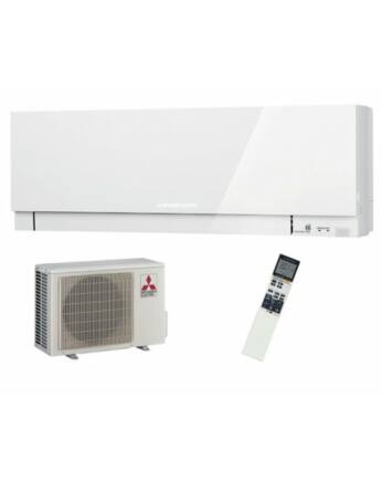 Mitsubishi MSZ/MUZ-EF35VGW Zen Inverteres Prémium oldalfali split klíma csomag 3,5 kW (fehér)