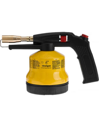 Idealgas FFLA3PM Gázlámpa forrasztáshoz (fém ház, piezzo)