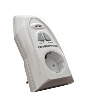 Computherm Q1 RX rádiófrekvenciás termosztáttal vezérelhető dugalj