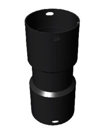 Ricom Gas Toldó elem - kéttokos Ø 75 mm