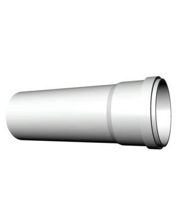 Ricom gas PPs műanyag Ø 80 mm-es, 0,25m-es toldócső