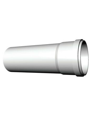 Ricom gas PPs műanyag Ø 125 mm-es, 2m-es toldócső