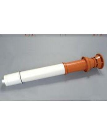 Saunier Duval Füstgázkivezető tetőelem, L = 1000 mm