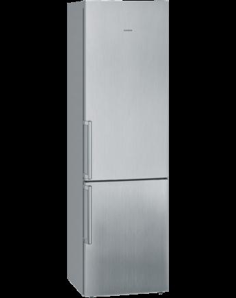 Siemens IQ500 Nemesacél ajtók Kombinált hűtő / fagyasztó