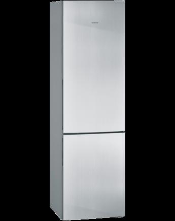 Siemens IQ300 Kombinált hűtő / fagyasztó inoxlook ajtók