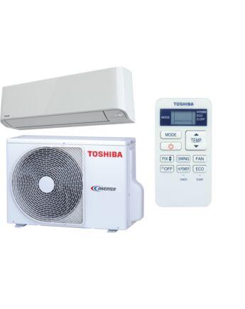 "Toshiba RAS-13BKV-E/RAS-13BAV-E MIRAI R410A ""CLASSIC"" MODELL Oldalfali Split klíma csomag 3,1 kW"