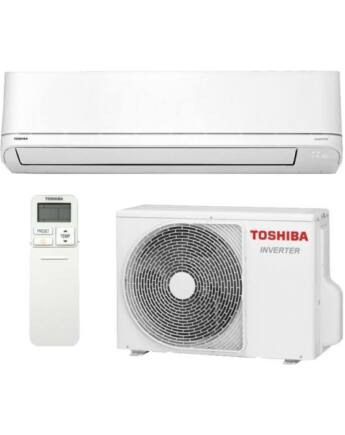Toshiba Suzumi Plus RAS-B24PKVSG-E / RAS-24PAVSG-E Oldalfali Inverteres Split Klíma csomag 7 kW