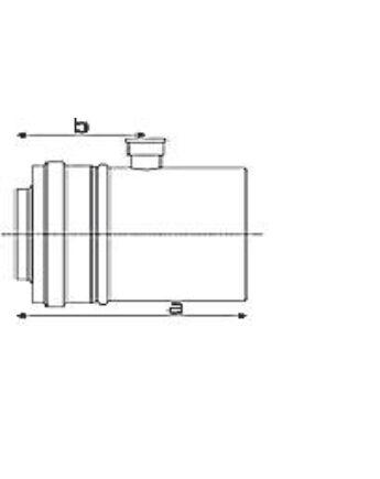 Tricox Alu/Alu mérőpont 100/150mm