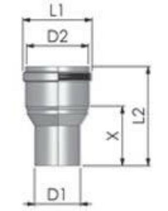 Tricox PPs bővítő 100-110