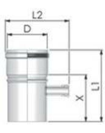 Tricox Alu mérőpont 80mm