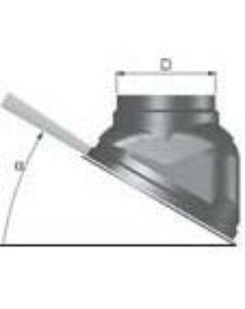 Tricox Ferde tető borítás fekete 150mm