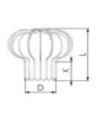 Tricox Inox madárvédő rács 110-120-130 mm