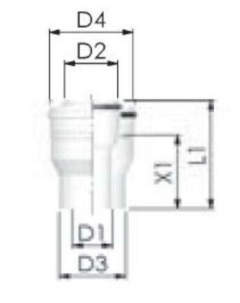 Tricox PPs/Alu bővítő 60/100mm-80/125mm