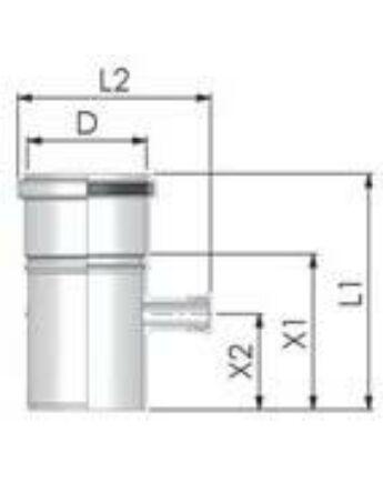 Tricox PPs mérőpont 200 mm