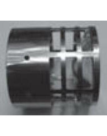 Tricox Rozsdamentes végelem csövekhez, 100mm
