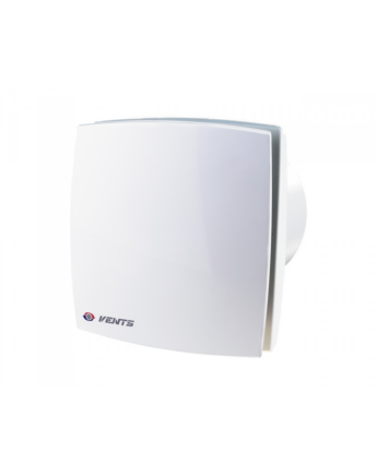 Vents 125 LDTH Zárt előlappal szerelt dekor ventilátor (fehér) Páraérzékelővel és Időkapcsolóval
