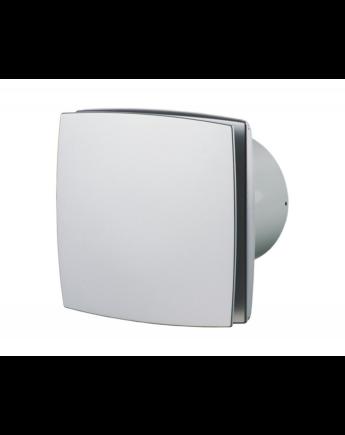 Vents 125 LD Zárt előlappal szerelt dekor ventilátor (alu matt)